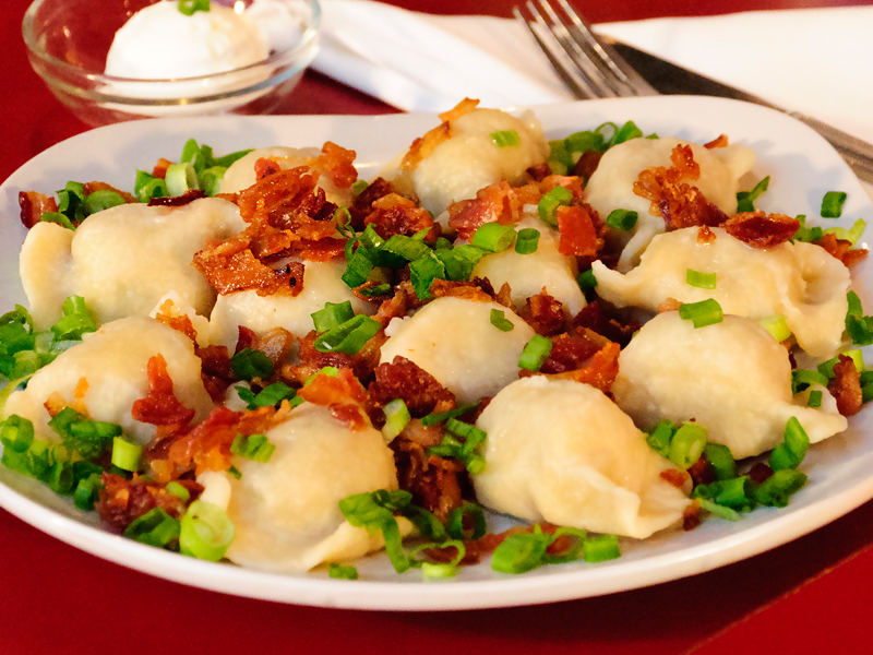 Stuffed Polish Dumplings